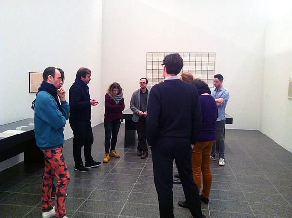 Untitled klangfarbt ne in der sammlung dorothee und for Minimal art vertreter