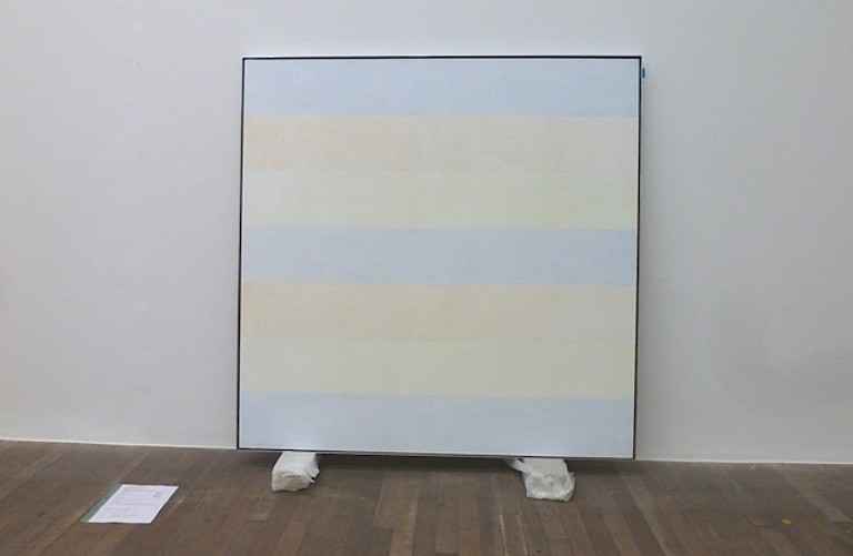 Agnes Martin A Trip Around The World London Dusseldorf Los Angeles New York